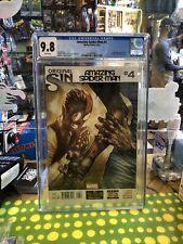 AMAZING SPIDER-MAN #4 Marvel CGC 9.8 NM/MT (2014) 1st FULL App. SILK Cindy Moon