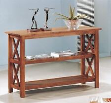 Briarcliff Mediuim Brown Oak Occasional Sofa Console Table by Coaster 5908