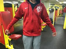 NIKE MANNY PACQUIAO THERMA FIT ZIP UP MEN'S HOODIE JACKET XL RARE!