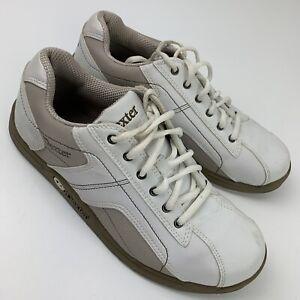 Dexter Saber Bowling Shoes Men's Size 8 M White Grey B2224-2