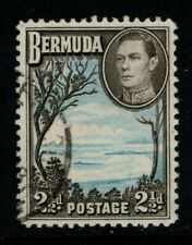 Bermuda 1938 1952 2½d Grape Bay SG113 Used