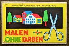 Spielbilderbuch. Play Books. Bilderbuch. - Malen ohne Farben. Löwensohn 1943