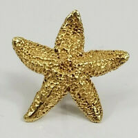 Rare 14K Gold ~JAMES AVERY STARFISH~ Pin/Tie Tack RETIRED