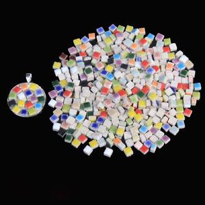Micro Ceramic Tiny Mini Porcelain Mosaic Tiles DIY Hobbies Crafts 100g/0.22lb
