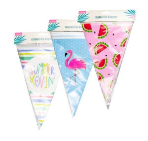 Flamingo Melon Summer Lovin Party Decor Banner Garland Flag Bunting 6m