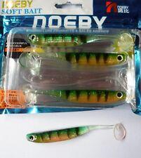 Noeby pêche leurre souple odorant Minnow 3D 11,5cm 5,4g couleur Perche