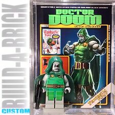 Dr Doom Marvel Custom Mini Action Figure w Case & Stand 323 Comic Mini-figure