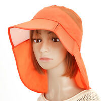 Women Summer Foldable Thin Breathable Wide Brim Beach Hat Outdoor Sport Visr Cap