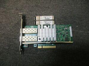 HP 560SFP+ 10Gb 2-port Ethernet Server Adapter X520-DA2 High Profile w/ SFP x2