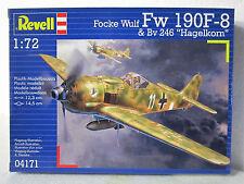 REVELL #4171 Plastic model kit FOCKE WULF FW 190F-8 1:72 New in box
