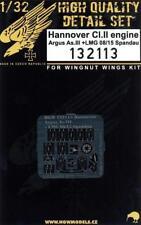 HGW 1/32 PE engine Hannover CI.II Argus As.III + LMG 08/15 Spandau 132113
