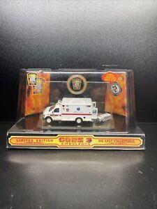 CODE 3 - WASHINGTON DC FIRE DEPT FORD E-350 AMBULANCE #9 - 1/64TH SCALE - #12060