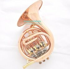 2017 Prof Rose Brass French Horn Piccolo Bb Mini Horn NEW + Mouthpiece + Case