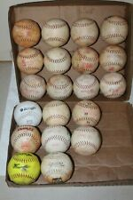 Dudley Softballs Used Thunder/Heat/Red Heat (20) Softballs