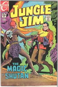 Jungle Jim Comic Book #28, Charlton Comics 1970 VERY FINE+