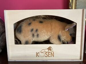 Kosen Micro Pig NWT In Wooden Box
