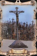 HILL OF CROSSES JESUS PICTURE HOME INTERIOR DECOR