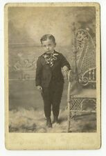 19th Century Children - 19th Century Cabinet Card Photograph - Rockland, MA
