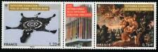 Y&T 4999+5000 Timbres en dyptique tapisseries d'Aubusson de 2015  NEUF **