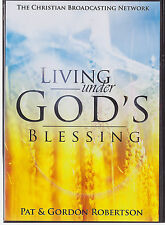 Living Under God's Blessing by Pat & Gordon Robertson (DVD) Ships in 12 hours!!!