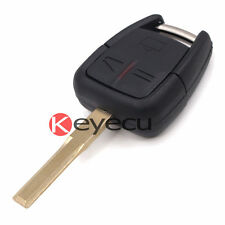 Alarm Remote Control Key Fob for Vauxhall Opel Vectra Zafira 3 Buttons 433.92MHz