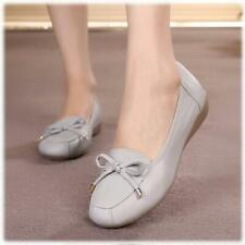 Comfortable Mother's Shoes Genuine Leather Soft Sole shoes Large Size