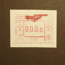 Portugal 1981:ATM/variable rate stamp/FRAMA label,A-Nr. 009 Madeira -0000-Druck!