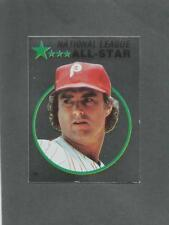 1982 O-Pee-Chee Baseball Sticker Steve Carlton #129 All-Star Foil Phillies *MINT