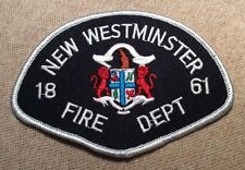 Ca New Westminster Canada Fire Patch