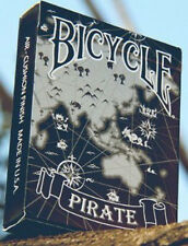 Bicycle Pirate Playing Cards by Eric Duan & Honey Zhang BLACK deck