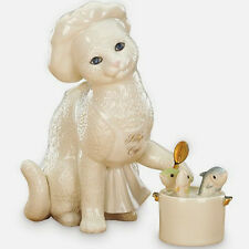 REDUCED - Lenox Kitty's Cafe 2-Piece Figurine Set - Very Nice! Adorable!