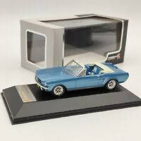 1:43 Premium X FORD MUSTANG Convertible 1965 PRD250 Blue Diecast Models