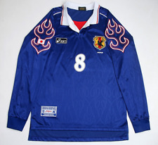 vintage soccer t shirts 1998 Japan National Home Jersey Nakata Long Sleeve