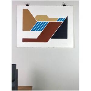 Robert Waterman - Autumn Falls II Serigraph on Woven Paper (#47/75)
