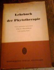 R.F.WEISS - LEHRBUCH DER PHYTOTHERAPIE , 1960 ,IN TEDESCO