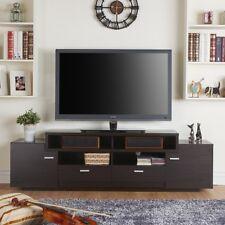 Tv Stands for Flat Screens Myspace 55 60 70 80 Inch Multi Storage Cappuccino