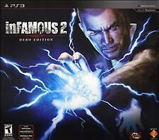 inFamous 2 Hero Edition PS3 Collectors Cole Figurine, Game, Comic, Book - NO BAG