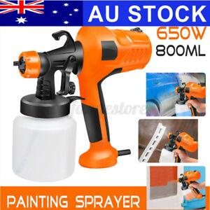 800ML 650W Electric Paint Air Spray Gun Sprayer Paint Adjustable Nozzle Wagner