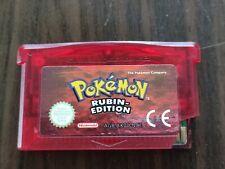 Pokémon: Rubin-Edition (Nintendo Game Boy Advance, 2003) Original!