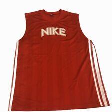 Nike Spellout Logo Mesh Basketball Jersey Sz 2xl