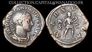 Sesterce Alexandre Sévère (222-235 Ap. J.C.) Rome. Mars Ultor. Bronze