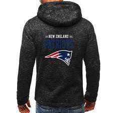 New England Patriots Hoodie Zip Up coat Sprots Sweatshirt Classic jacket gifts