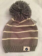 Toronto Maple Leafs Womens Reebok Winter Hat . Cap NHL Raptors Ladies OSFM
