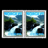 Norway 1977 - EUROPA Stamps - Landscapes - Sc 694b MNH