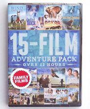 15 Family Adventure Movies new DVD Wind Dancer Robinson Crusoe Ghost Ship Legend