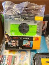 Kodak PRINTOMATIC Digital Instant Print Camera and accessory bundle.