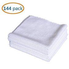 144pcs Microfiber Cleaning Cloth Towel Rag Car Polishing Detailing No-Scratch