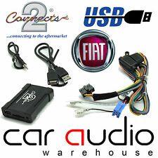 Connects2 CTAFAUSB001 Fiat Multipla 1999 On Car USB SD AUX In Interface Adaptor