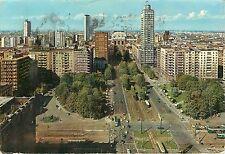 Republic Square Milano Italy pm 1963 Postcard