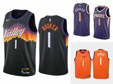 New 2021 Devin Booker #1 Phoenix Suns Swingman Home/Away Jersey